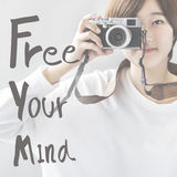 Free Your Mind Positive Relaxation Chill Concept Stock Photography