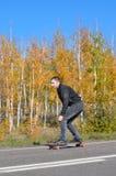 Freebording-Herbst Stockfotografie