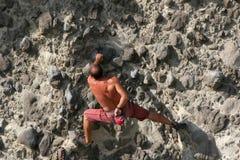 Freeclimber Stock Afbeelding