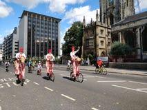Freecycle London Ride royalty free stock photos