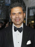 Freed Zakaria. CNN personality and Time magazine contributor Fareed Zakaria arrives on the red carpet for the 9th Annual Time 100 Gala in New York City on April royalty free stock image
