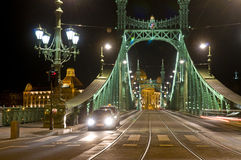 The Freedem bridge in Budapest Royalty Free Stock Photos