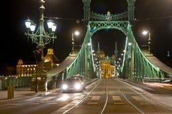 The Freedem bridge in Budapest Royalty Free Stock Photos