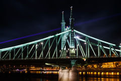 The Freedem bridge in Budapest Stock Photography