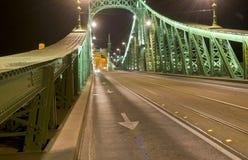 freedem budapest моста Стоковые Изображения RF