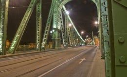 freedem budapest моста Стоковое фото RF
