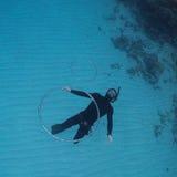 Freediver Photographie stock