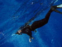 Freediver Photos stock