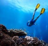 Freediver Royalty Free Stock Photos