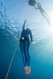Freediver Royalty Free Stock Image