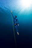 Freediver Stock Photography