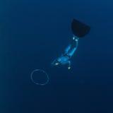 Freediver Stock Photo