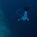 Freediver Royalty Free Stock Images