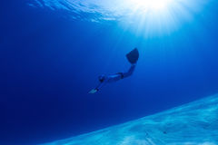 Freediver Stock Images
