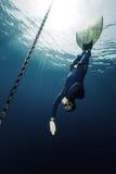 Freediver Royalty Free Stock Image