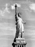 Freedom. Black and white Statue of Liberty Royalty Free Stock Photos