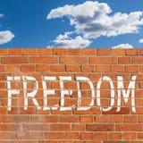 FREEDOM Stock Image