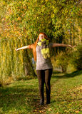 Freedom, autumn sunshine Stock Photography