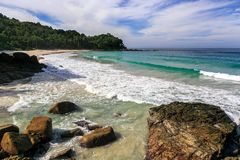 Freedom beach, Phuket, Thailand. Gorgeous Freedom Beach at morning, Phuket, Thailand Stock Photo