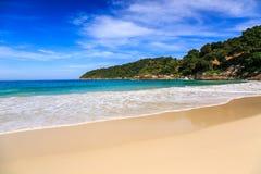 Freedom beach, Phuket, Thailand. Gorgeous Freedom Beach at morning, Phuket, Thailand Royalty Free Stock Images