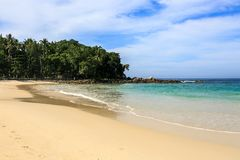 Freedom beach, Phuket, Thailand. Gorgeous Freedom Beach at morning, Phuket, Thailand Stock Image