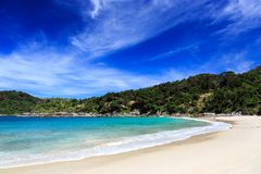 Freedom beach, Phuket, Thailand Stock Photos