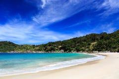 Freedom beach, Phuket, Thailand. Gorgeous Freedom Beach at morning, Phuket, Thailand Stock Photos