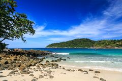 Freedom beach, Phuket, Thailand Stock Photography