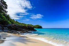 Freedom beach, Phuket, Thailand. Gorgeous Freedom Beach at morning, Phuket, Thailand Royalty Free Stock Image