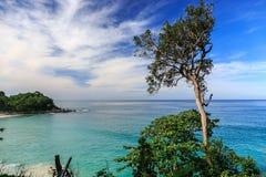 Freedom beach, Phuket, Thailand. Gorgeous Freedom Beach at morning Taken from high point, Phuket, Thailand Stock Photography