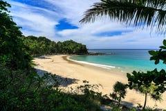 Freedom beach, Phuket, Thailand. Gorgeous Freedom Beach at morning Taken from high point, Phuket, Thailand Stock Photo