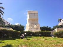 Freedom Boulevard monument in jardin horloge florale park in Algiers Algeria Stock Photography
