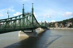 Freedom Bridge, Budapest Royalty Free Stock Photo