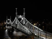 Freedom Bridge of Budapest Royalty Free Stock Images