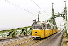 Freedom Bridge in Budapest, Hungary Stock Photography