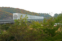 Freedom Bridge, DMZ, South Korea. Freedom Bridge between North and South Korea Stock Image
