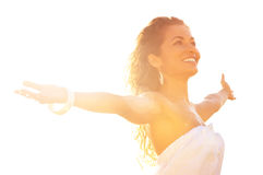 Freedom and carefree Royalty Free Stock Photo