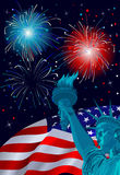Freedom Celebration Royalty Free Stock Photo