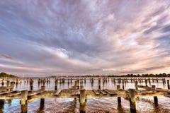 Freedom on the Chesapeake Bay Stock Photo