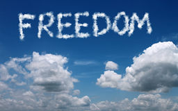 Freedom concept Royalty Free Stock Photo