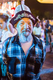 Freedom concert portrait of cool man Stock Images