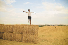 Freedom in the Countryside Stock Images