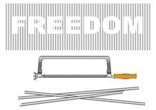 Freedom creative Stock Image