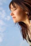 Freedom and enjoy Stock Image