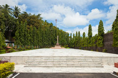 Freedom Fighters Memorial stock photo