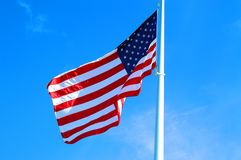 Freedom flag royalty free stock photo