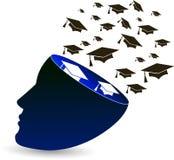 Freedom fly graduation Stock Image