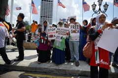 Freedom for GAZA Royalty Free Stock Photography