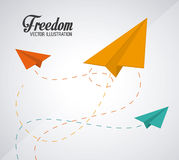 Freedom icons design Royalty Free Stock Images