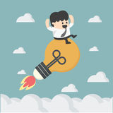 Freedom Ideas concept. Cartoons concepts Freedom Ideas concept .eps10 Royalty Free Stock Photo